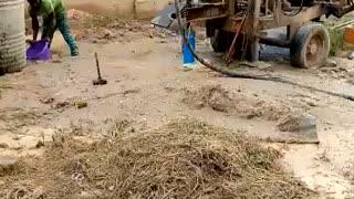 Water drilling in Nigeria