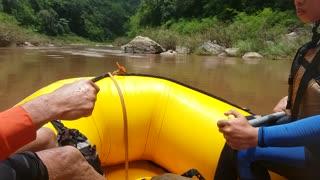 Thailand- White water rafting