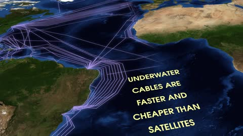 Undersea Cables Wire Ends Of Earth To Power Internet