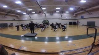 Karrer Middle School Band Performance Warm-up 2021