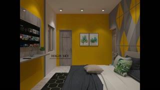 Beautiful indian home interior design.