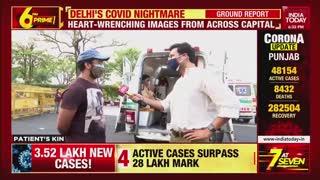 Corona virus Attack in india