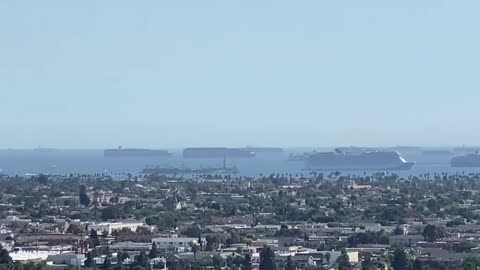 Cargo Ships in Full View- Biden & Co. Not Hiding Their Incompetency Very Well