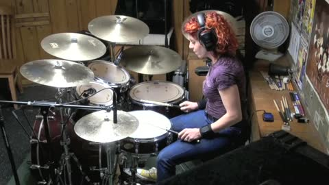 Play That Funky Music by Leif Garrett ~ Drum Cover