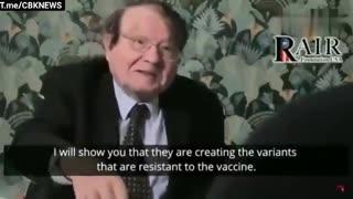 Le professeur Luc Montagnier ne mâche pas ses mots: c'est une énorme faute médicale !!!