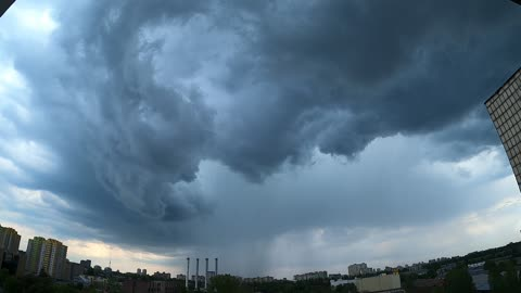 The awesome storm !
