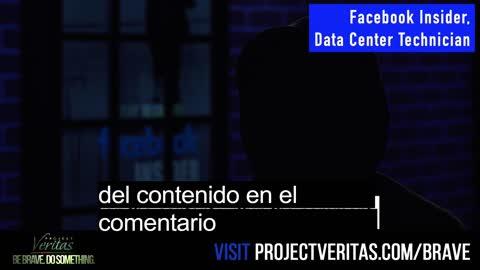 Project Veritas Presenta Testimonio de Trabajador de Facebook