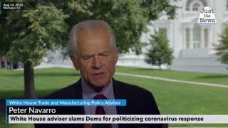 Navarro: White House adviser slams Dems for politicizing coronavirus response