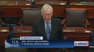 McConnell Calmly Threatens Dems, Says What He'll do if They Eliminate Filibuster