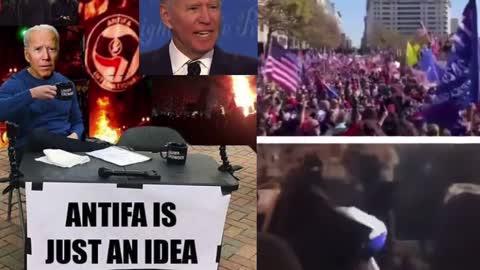 Biden says Antifa is an idea?!