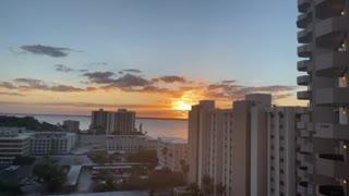 Sunshine state sunset