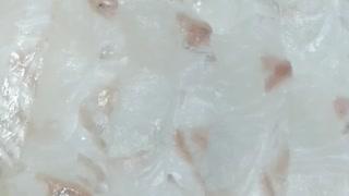 Three hours after fresh sashimi