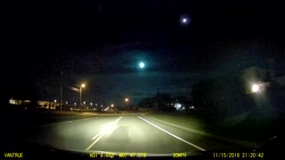 Texas Meteor Lights Up the Sky
