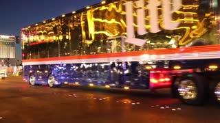 Nascar Hauler Parade in Las Vegas on March 9, 2017.