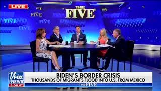 Gutfeld and Geraldo arguing over immigration