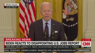 Biden Attempts Damage Control Following Trainwreck Jobs Report