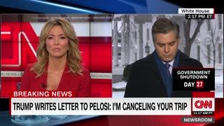 Trump Cancels Pelosi Trip