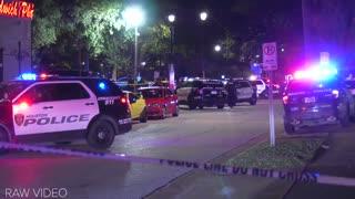 RAW Scene Footage: 3 Harris County Deputies Injured in Shooting, 1 Woman Killed