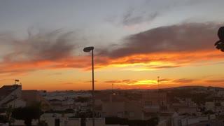 Unic Unbelievable amazing sunset view today beautiful
