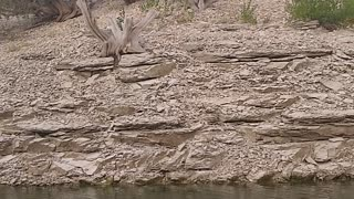 Hidden lake in Colorado