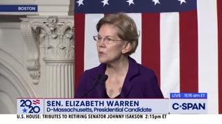 Elizabeth Warren slams Republicans as 'fawning, spineless defenders' of Trump