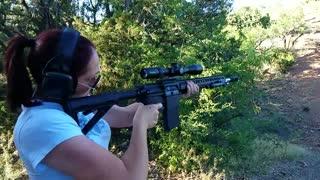 Breaking in the new AR-10