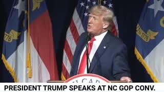 Donald Trump speech at North Carolina shortest version