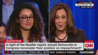 Kamala Harris calls for impeachment