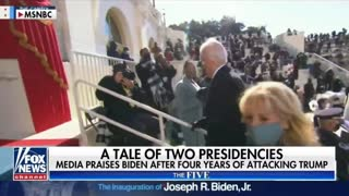 The MEDIA Fawning over Biden Inauguration