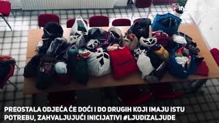 U Utrinama građani skupili odjeću za 17- godišnju djevojku i njezinog brata