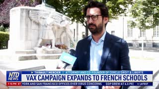 Vaccine Campaign Expands to French Schools