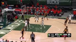 Milwaukee Bucks vs Atlanta Hawks GAME 2 Highlights 2nd Qtr | 2021 NBA Playoffs