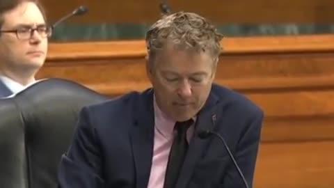 Doctor (Senator) Rand Paul vs. Doctor Anthony Fauci