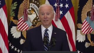 006 Biden First Press Conference