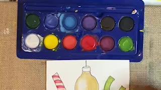 DIY Christmas Card - JOY