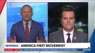 Republican Congressman Matt Gaetz Defends Himself After Media Attack