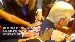 Prayer in the White House with TRUMP