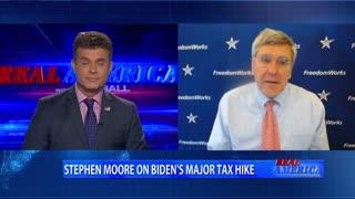 Real America - Dan W/ Stephen Moore (March 17, 2021)