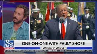Paul Shore talks Trump on Watters World