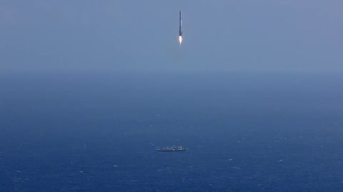 SpaceX's rocket explodes after nearly landing