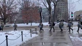 Troops headed in (WI)