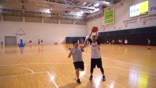 Insane 3 on 3 with professional basketball players