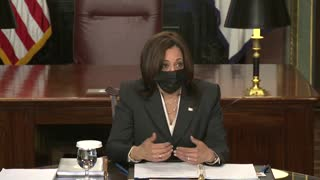 """Kamala Claims That """"Extreme Climate"""" Is a """"Root Cause"""" of Border Crisis"""