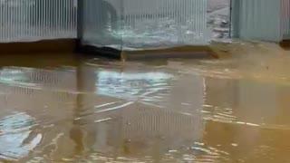 Video: Grave emergencia en Medellín por las lluvias con granizo de este jueves 2