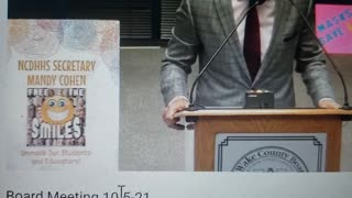 Dad Speaks At School Board Meeting About Sexual Reading Material