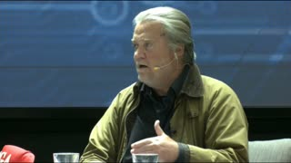 Steve Bannon at Cyber Symposium, Government Weaponized Against Arizona Audit and Trump