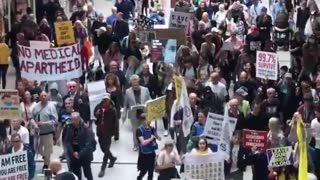 Manchester protests vaccination