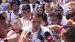 Guaidó dice que Venezuela padece una emergencia humanitaria