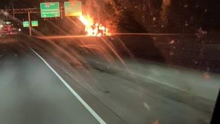 MARTA Bus Catches Fire