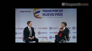 Colombia será el primer país de américa en acceder a Internet.org: Zuckerberg